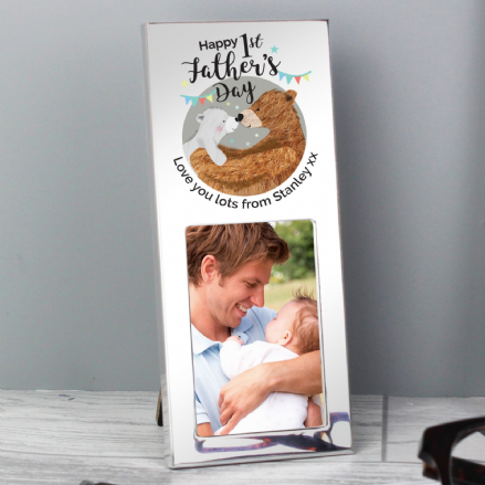1st Fathers Day Daddy Bear 3x2 Photo Frame